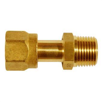 Adjustable male adaptor union