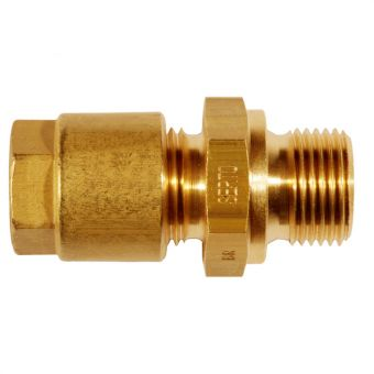 Male adaptor union METR