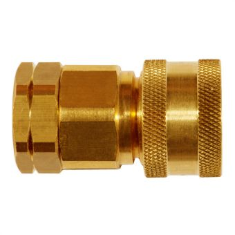 Coupler with female thread